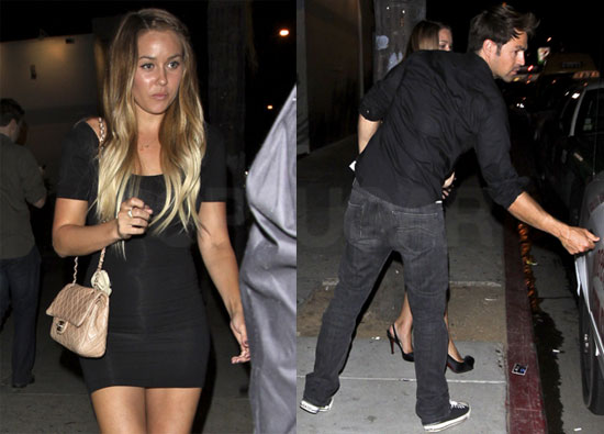 lauren conrad and kyle howard kissing. Pictures of Lauren Conrad and