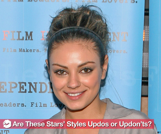 celebrities updo hairstyles. Wearing Updo Hairstyles