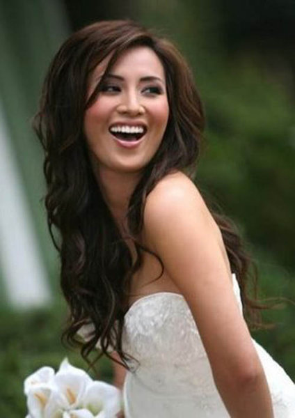 Picture of Wedding Hairstyles For Long Hair Half Up