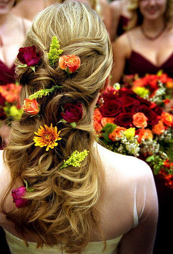 wedding hairstyles for bridesmaids