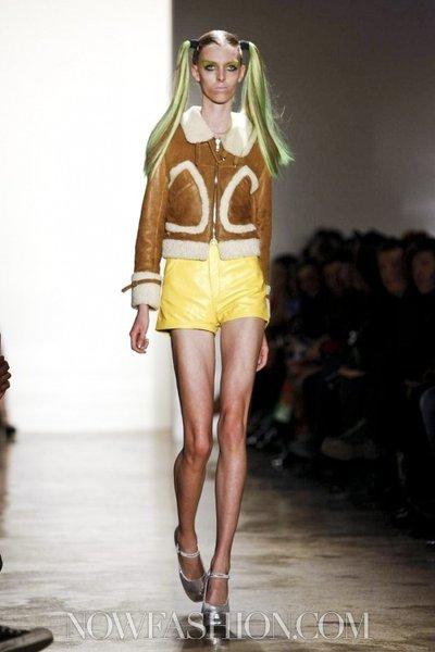 Ultra Skinny Runway Model: Chloe Memisevic  | beauty body image