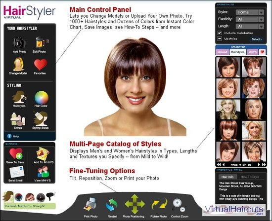 mens hairstyle software. of Hairstyle Software