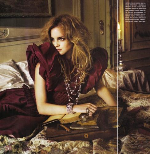 emma watson vogue us july. dresses Emma Watson Vogue US
